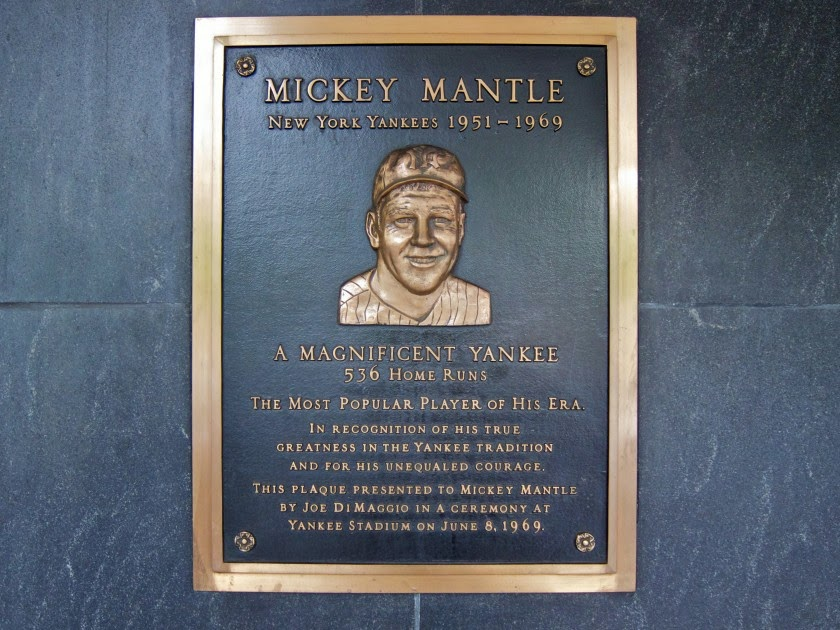 Baseball Hall of Fame... Mickey Mantle