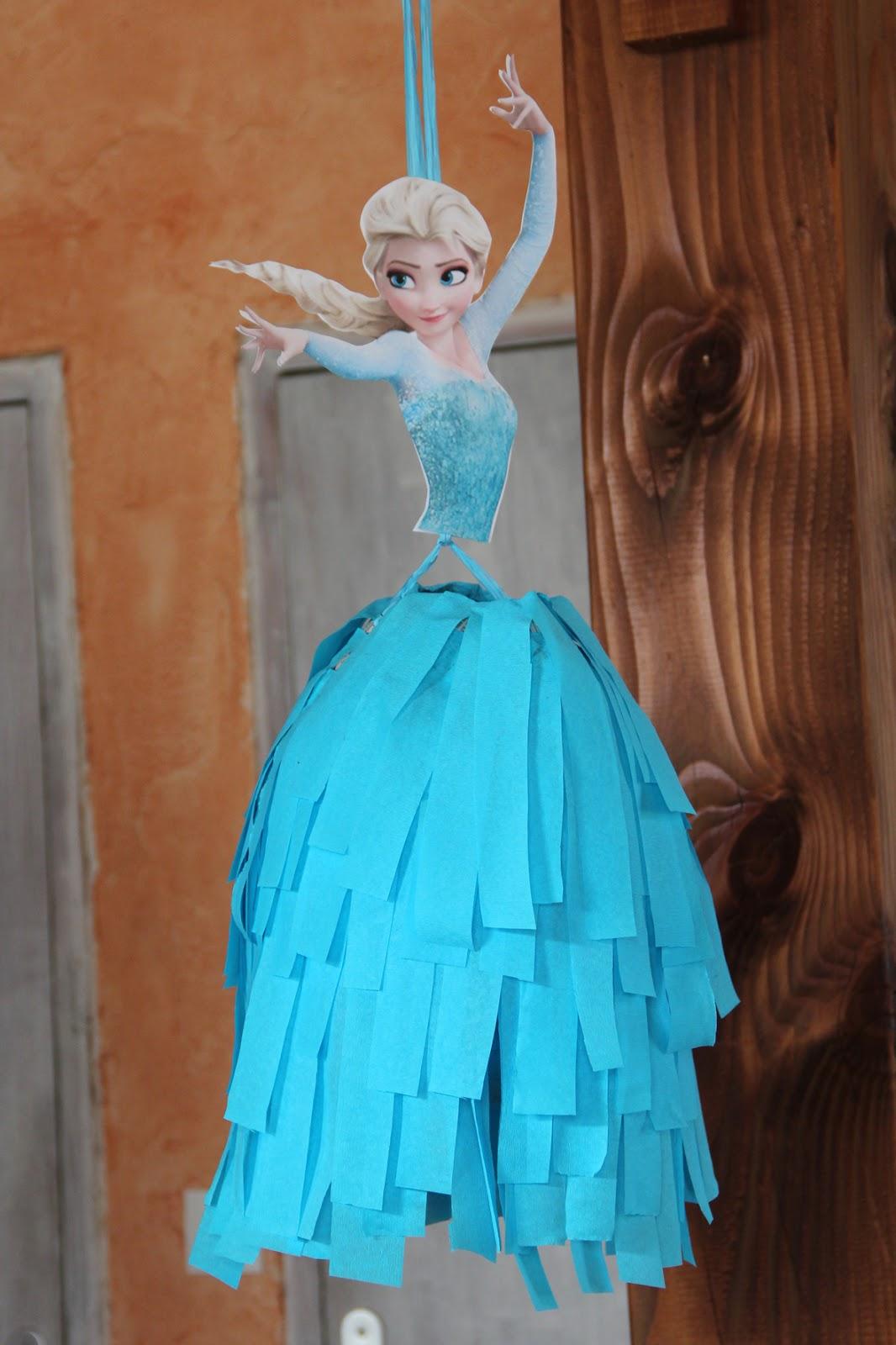 R cr ations de lili anniversaire reine des neiges - Reine des neige 2 ...