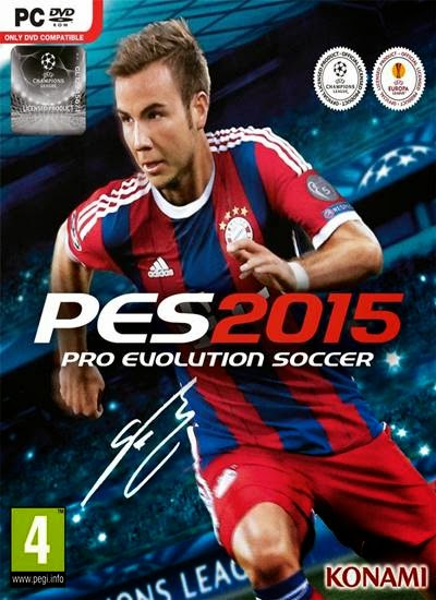 Baixar Pro Evolution Soccer (PES 2015) PC Game + Crack Reloaded Torrent