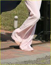 Barefoot Celebrities Selena Gomez Street