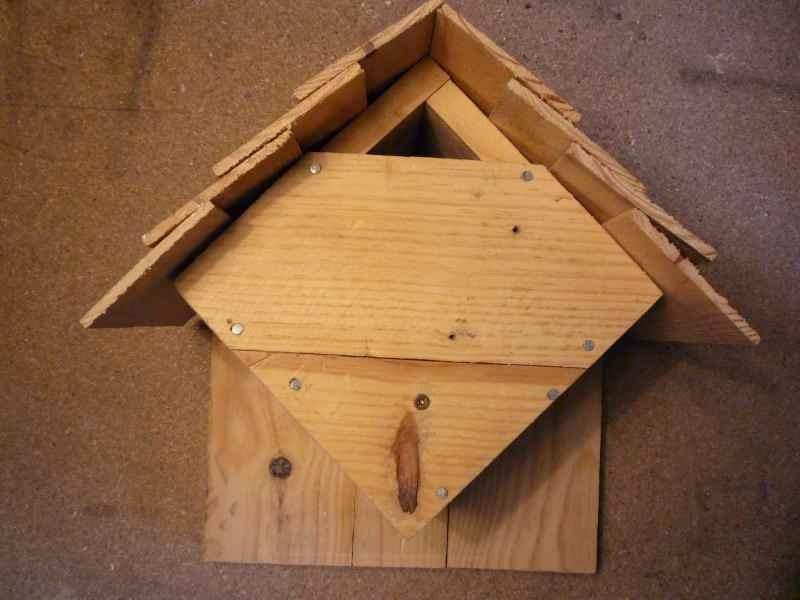Mueblesdepalets.net: como hacer una casita para pájaros con palets