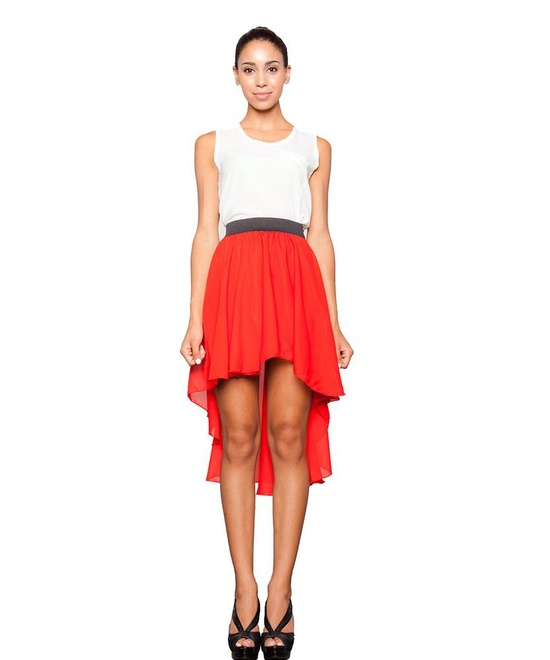 thedailyme high low skirt