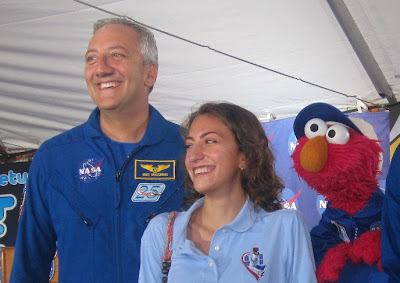 Sesame Street Elmo at STS-135