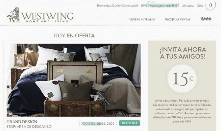 Ecommerce y marketing westwing el privalia de los for Privalia muebles