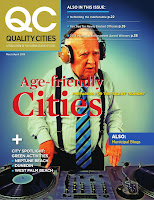 The Mayor's Blog featured in the Mar/Apr 2014 Edition of Quality Cities Magazine page 30