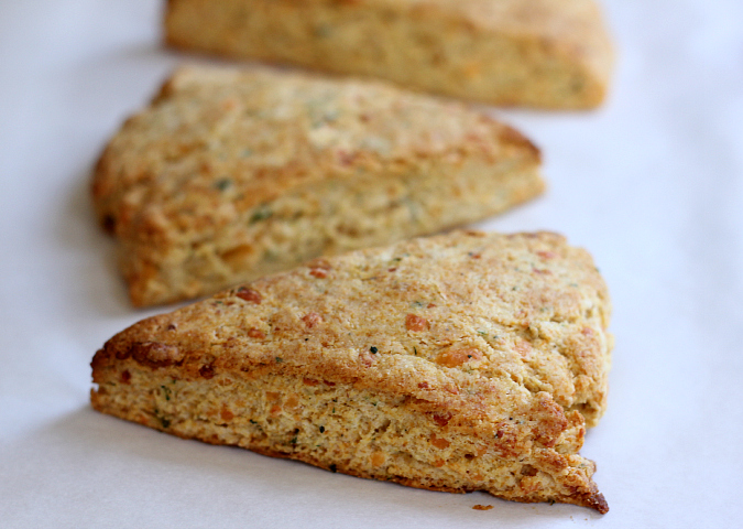 love, laurie: cheddar and honey cornbread biscuits with ...