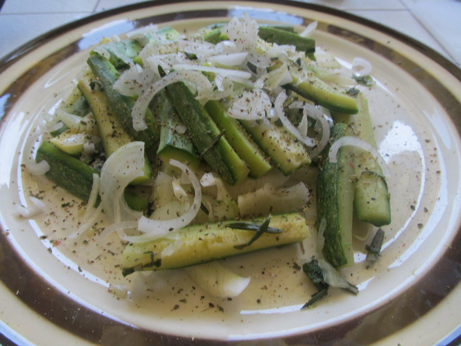 La cucina di silvia zucchine al vapore x il mio papy - Cucina a vapore ricette ...