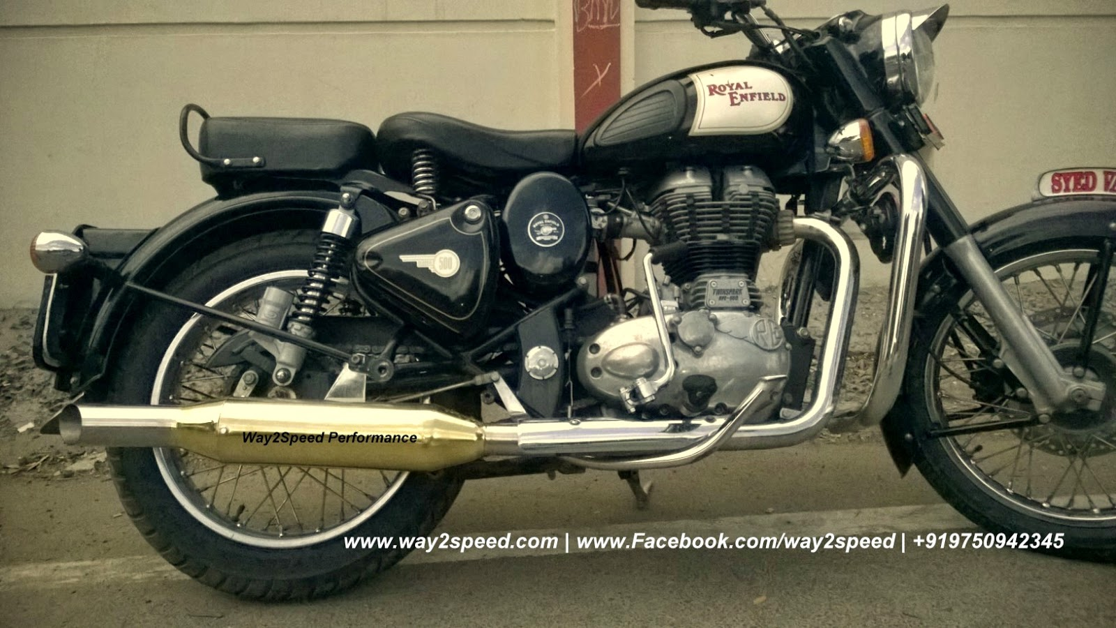 Way2speed Royal Enfield Rifle Exhaust