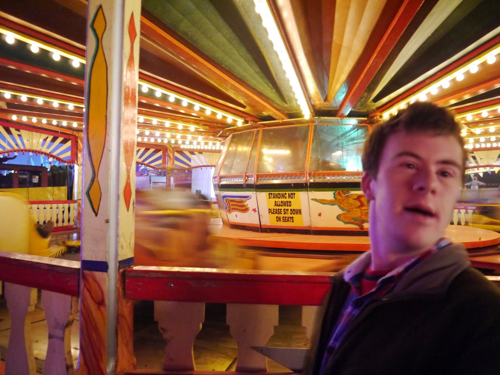 My brother at the fair