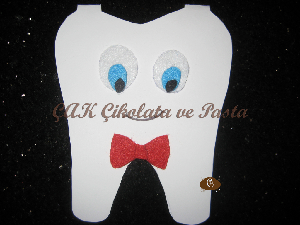 Diş Buğdayı Davetiye/Teething Party Invitation