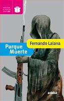 """Portada del libro """"Parque Muerte"""", de Fernando Lalana"""