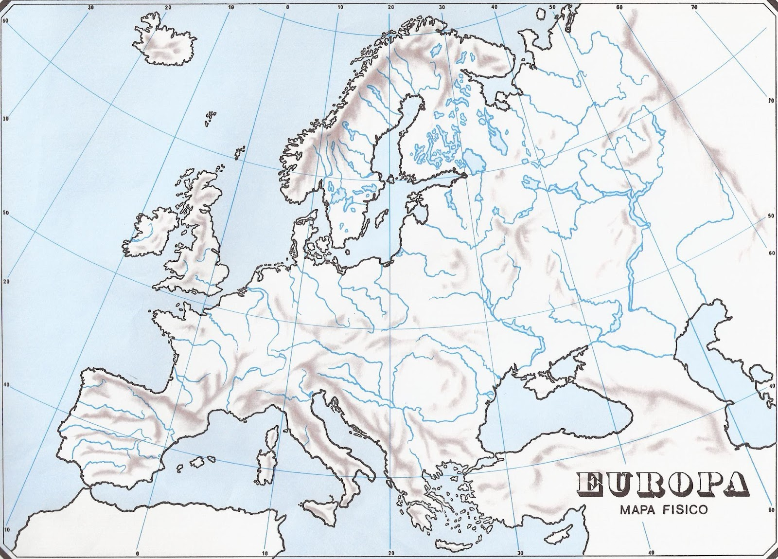GEOGRAFA 3 ESO  MAPA INTERACTIVO DE EUROPA ROS Y LAGOS