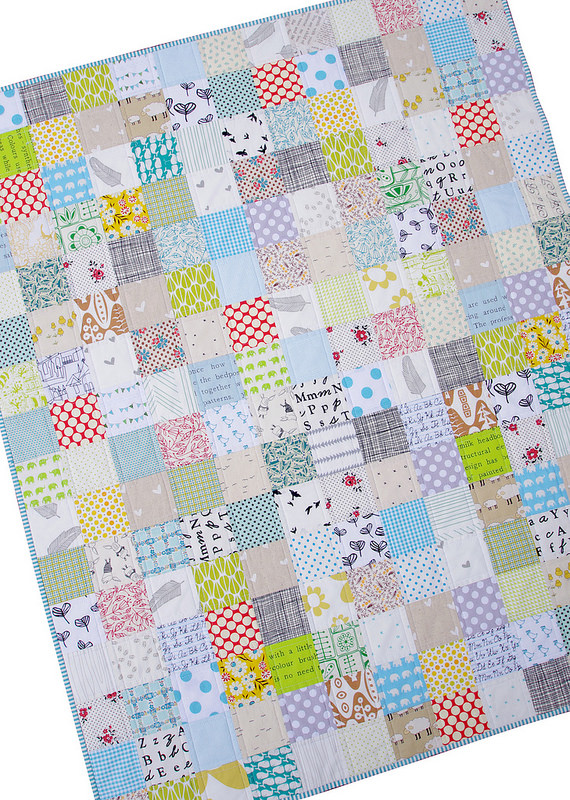 Custom Baby Boy Quilt - Red Pepper Quilts