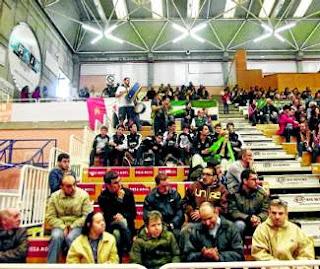 Aficionados del Cáceres en Lugo, Playoffs 2012-13