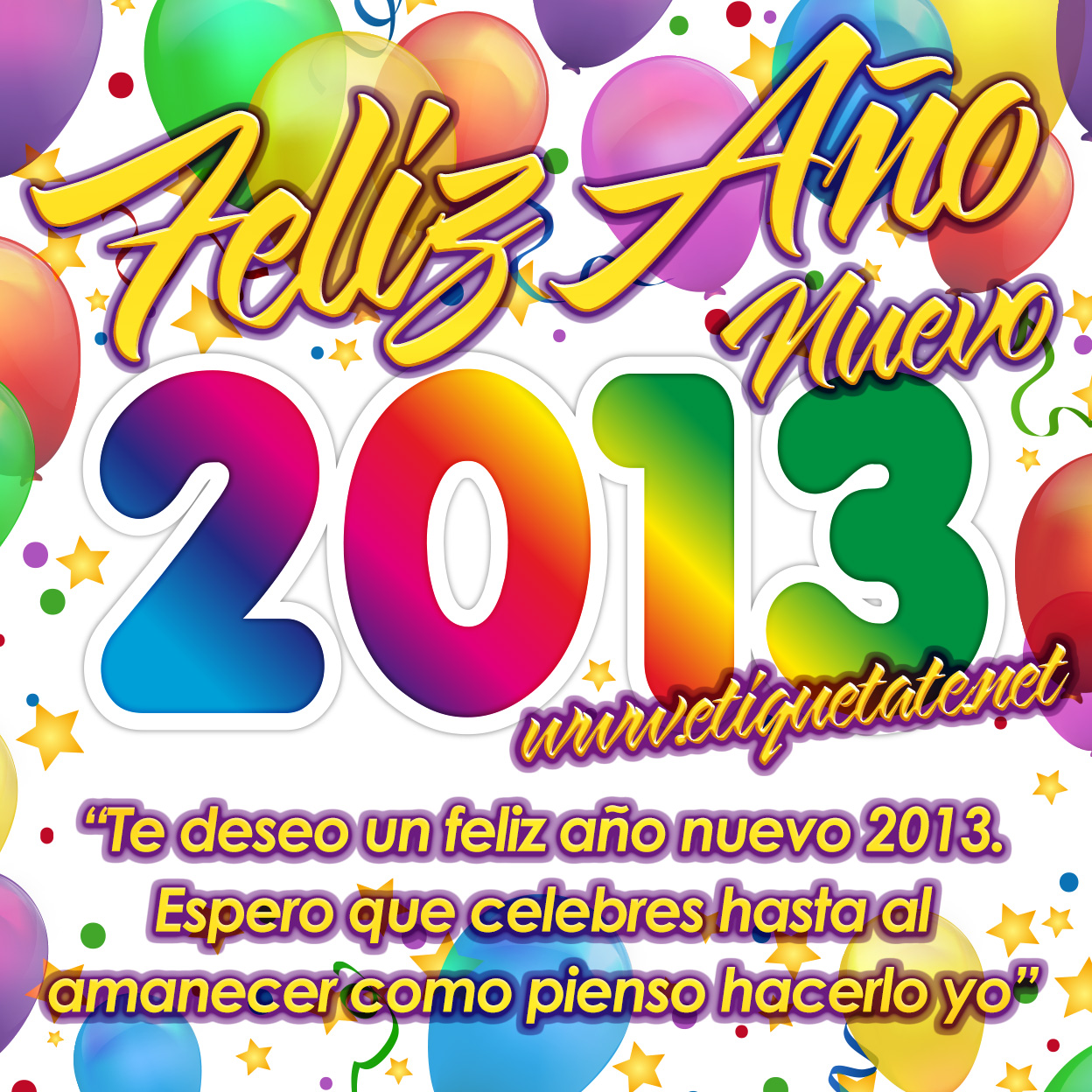Para el 2013 frases para el 2013 lindos saludos para el 2013