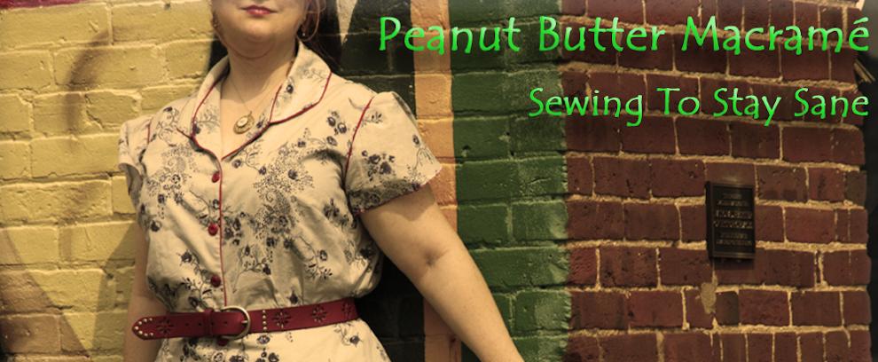 Peanut Butter Macramé