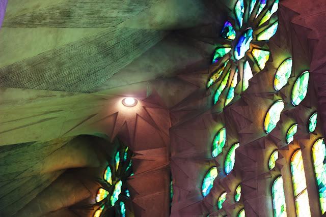 Sagrada Famillia windows
