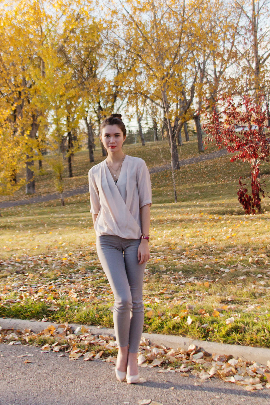 fall fashion, autumn fashion, amanda uprichard, silk blouse, fashion style, fashion blogger