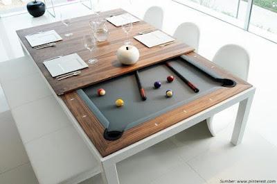 Meja Makan Billiard