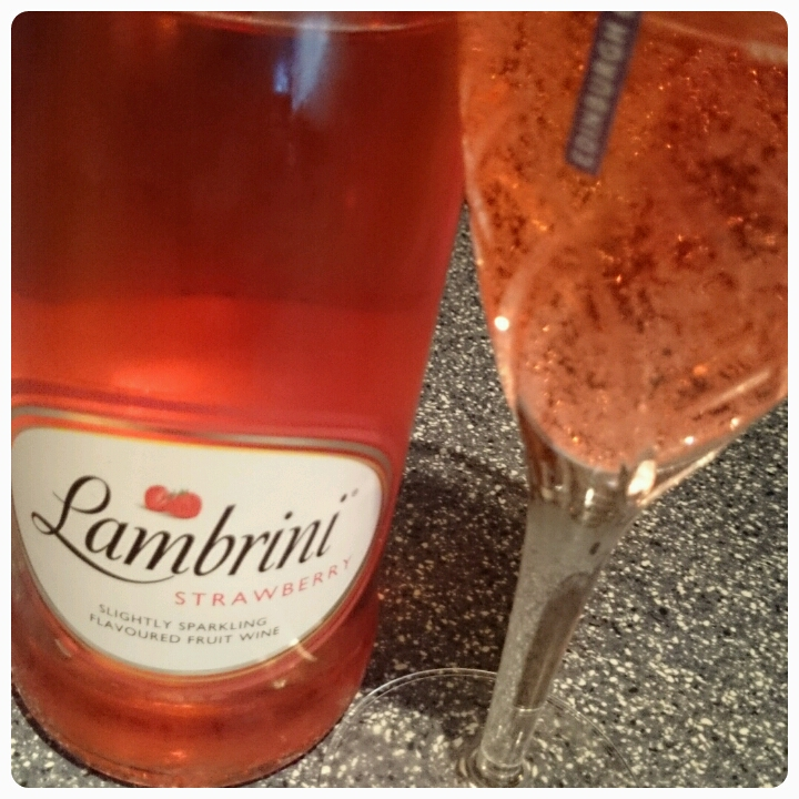 strawberry lambrini