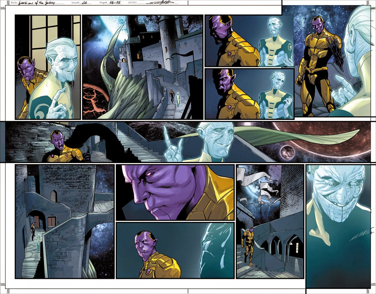 The conspiracy begins in Guardians of the Galaxy #24