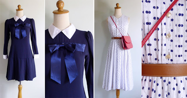 vintage nautical dresses in the shop