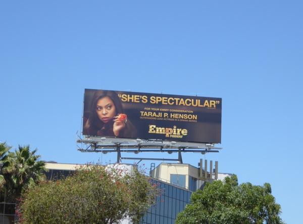 Empire 2015 Emmy nomination billboard