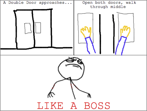 Walk Through Middle - Like A Boss