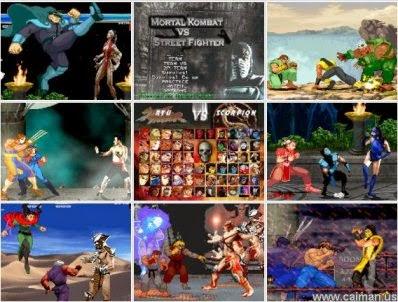 Mortal Kombat vs. Street Fighter [MUGEN] (DOWNLOAD) - YouTube