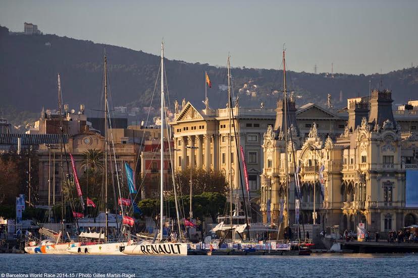 La Barcelona World Race se prépare à Barcelone.