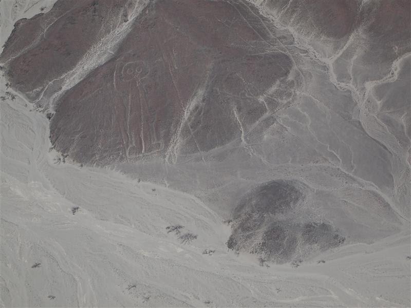 Líneas de Nazca - El astronauta