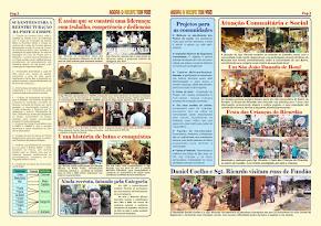 Jornal com um resumo de lutas do Sgt. Ricardo parte II