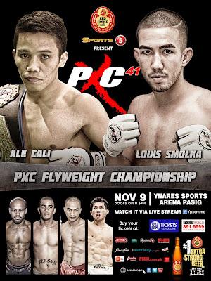 PXC 41 Cali vs Smolka poster