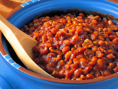 Survival Instincts: Baked Beans with Bacon