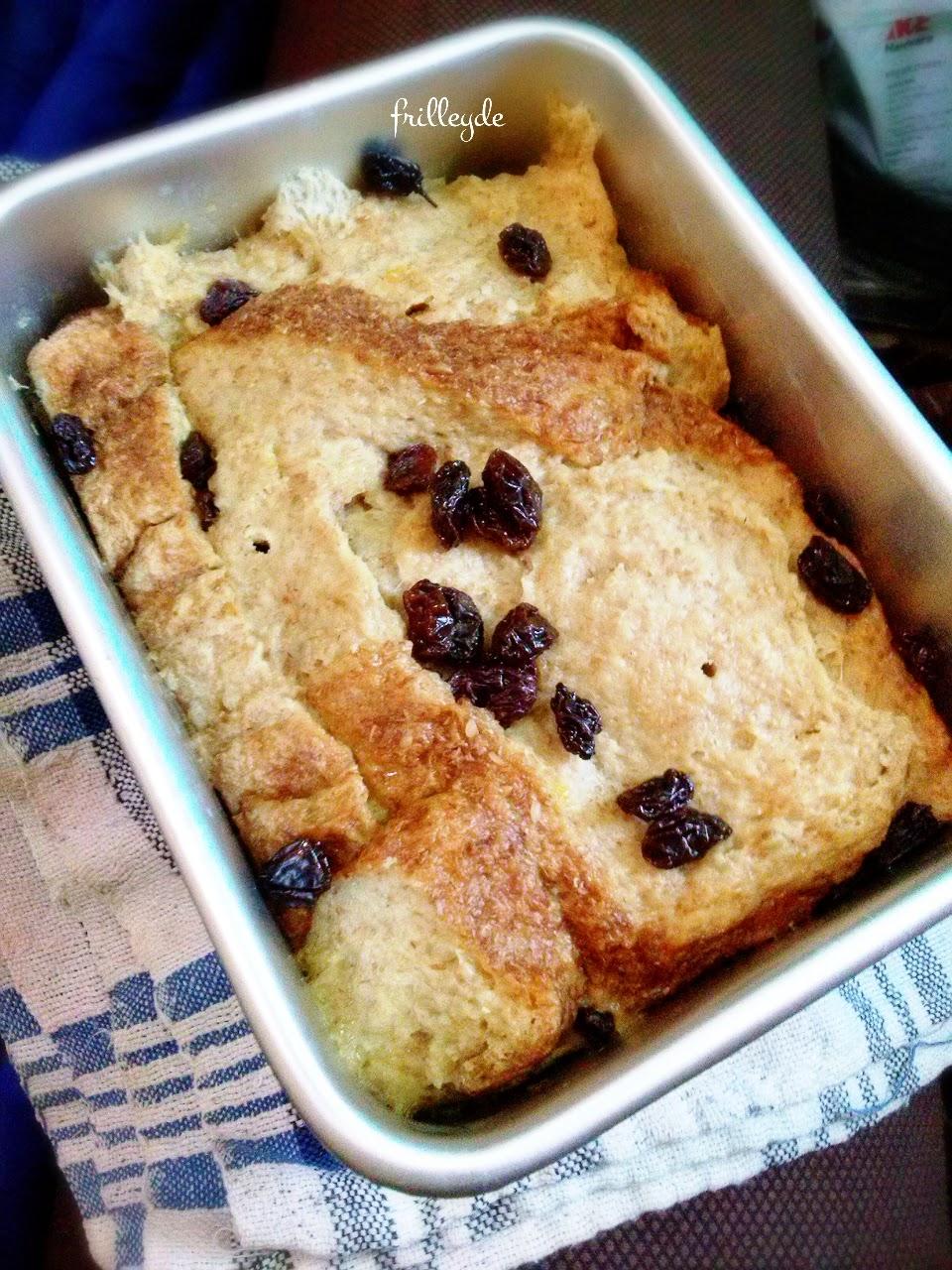 Bread Pudding Ala Frilley