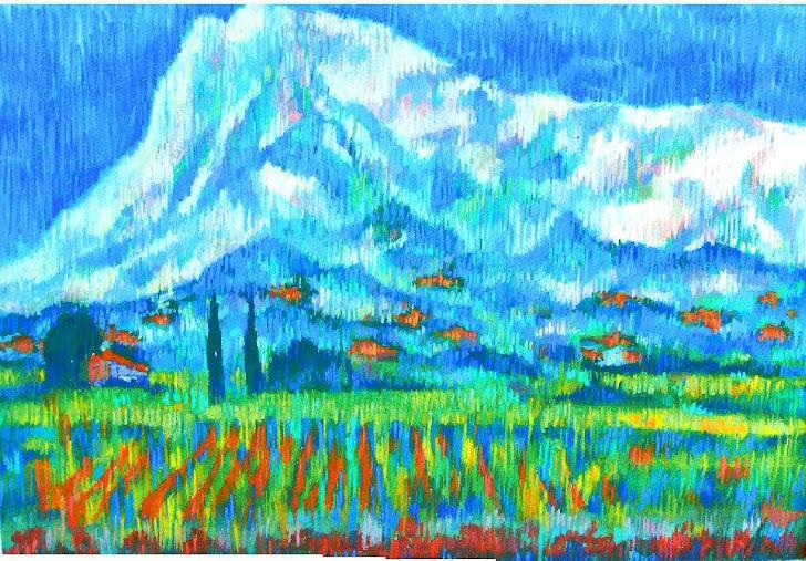 Гора Св.Виктора, Прованс