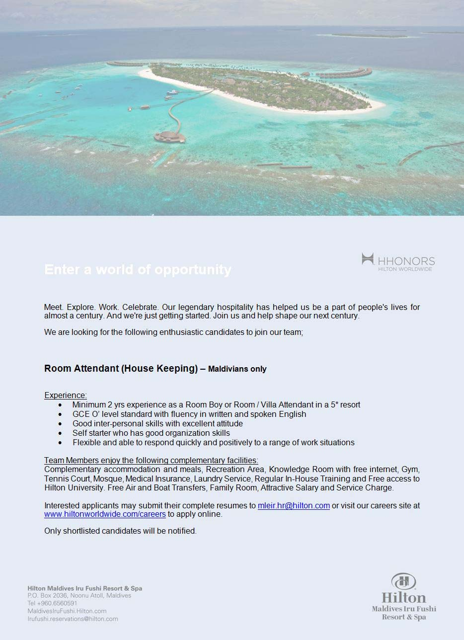 Room Attendant Jobs In Maldives · VILLA HOTELS · Four Seasons Resort  Maldives At Landaa Giraavaru Part 77