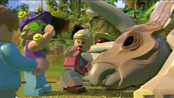 Lego Jurassic World Walkthrough - Video Game