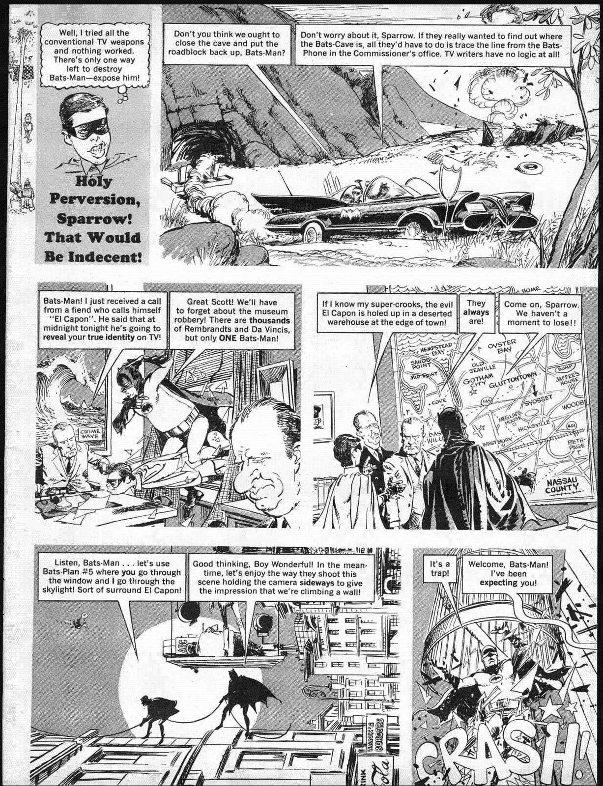 G33k4L1f3: Classic Mad Magazine BATMAN parody