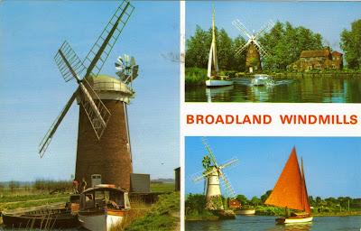 Windmills on Norfolk Broads