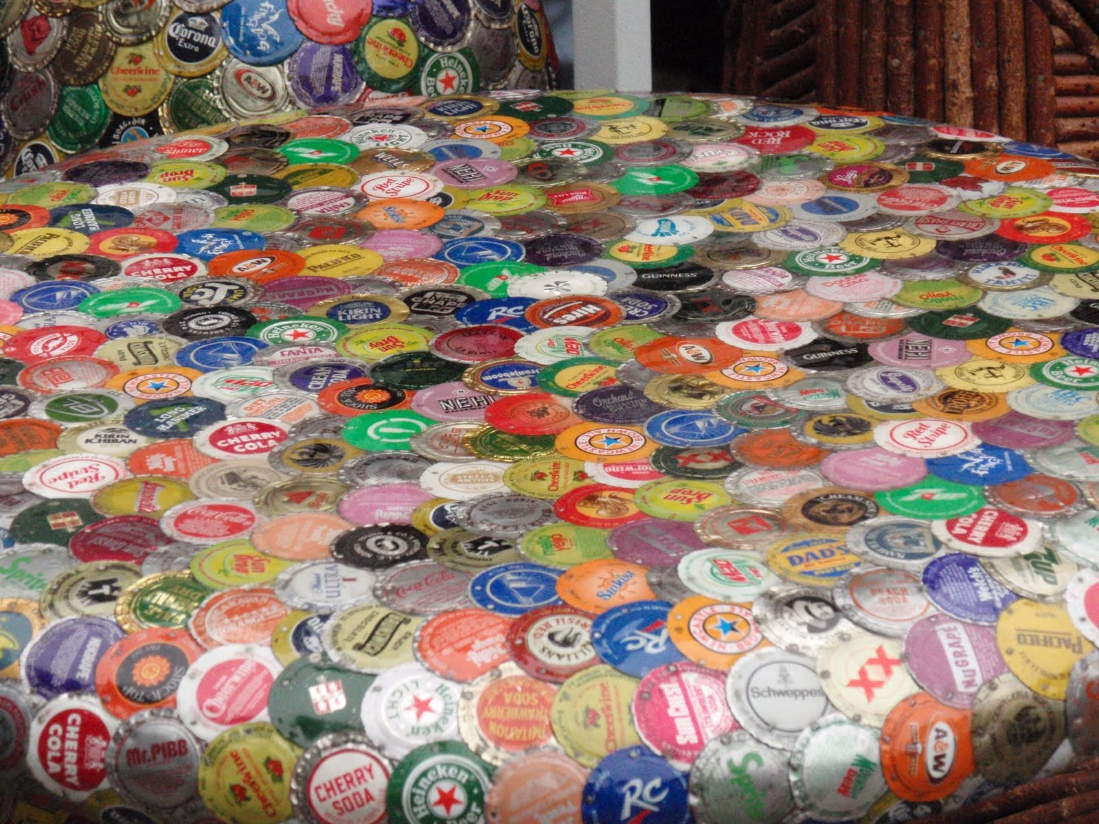 How To Recycle Art From Bottle Caps