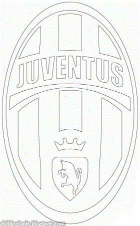 Emblem of Juventus Coloring