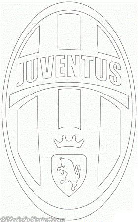 Emblem Of Juventus Coloring