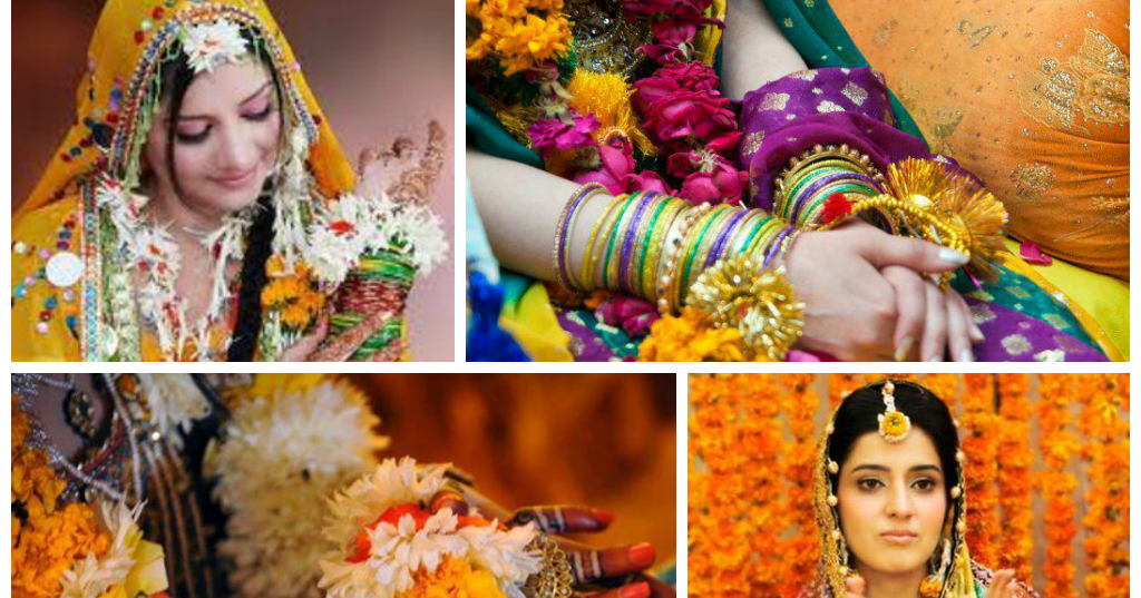 Mehndi Flower Baskets : Mesmerize the mehndi ceremony with unique flower