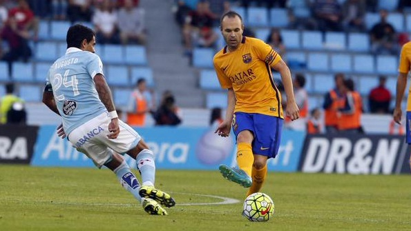 Celta Vigo Babat Barcelona 4-1, La Liga Kamis Dini Hari 24 Sept 2015