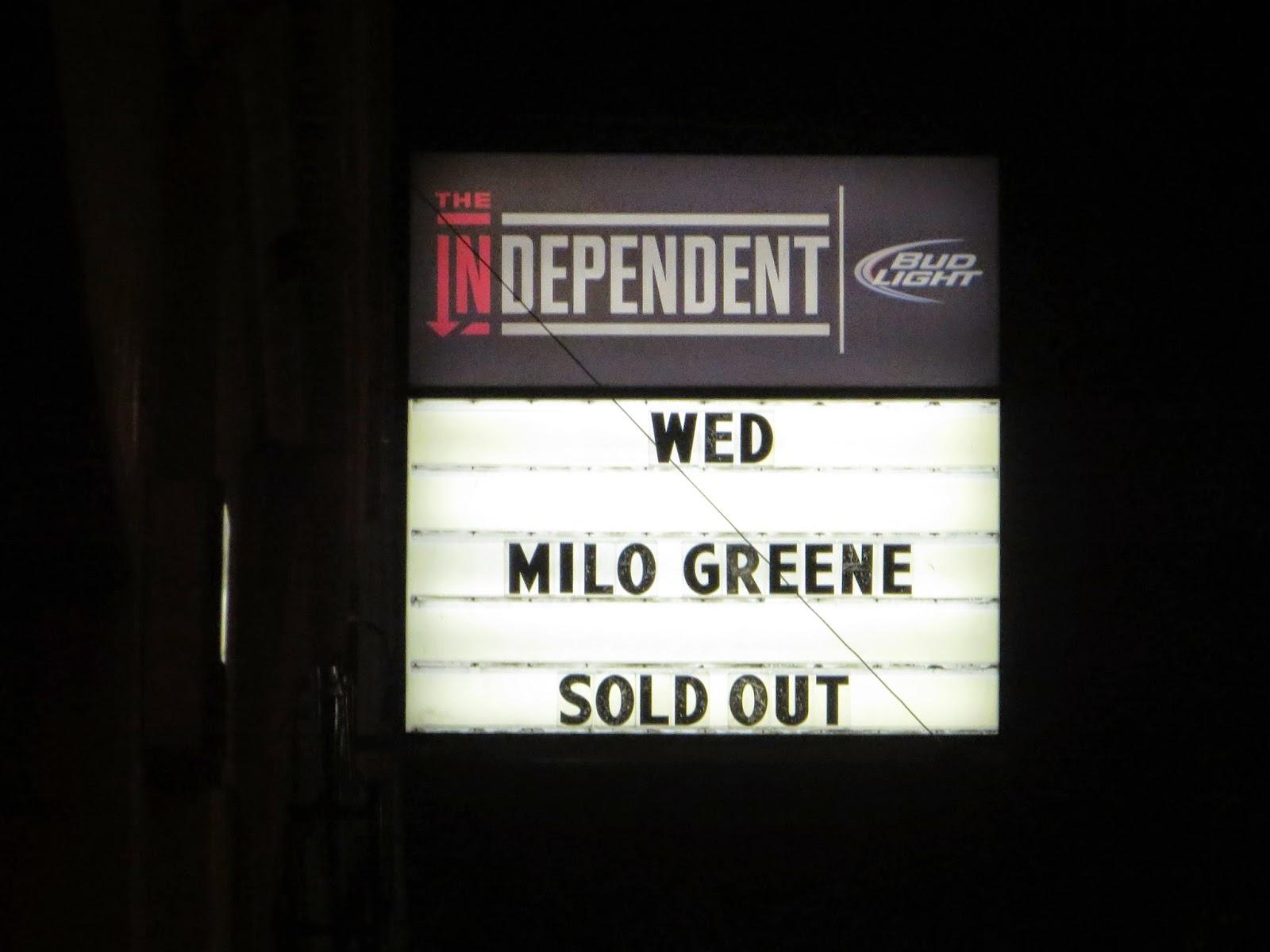 Milo Greene Tour