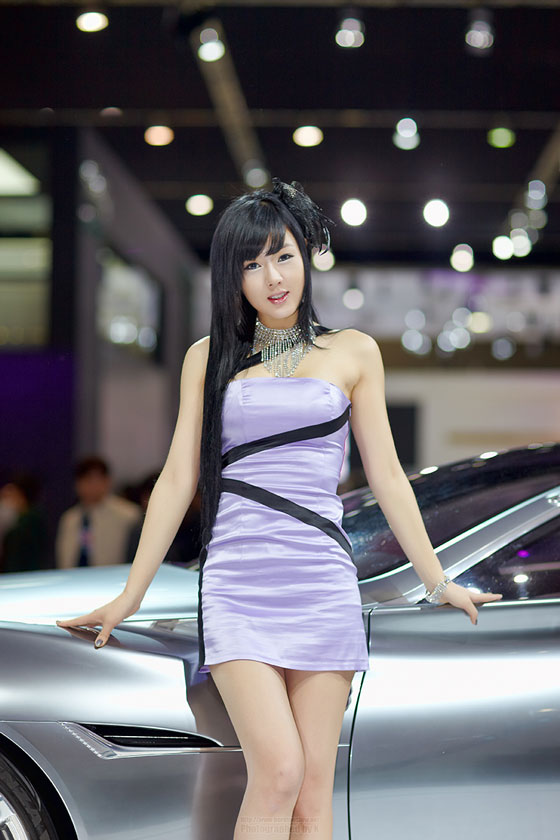 Hwang MI Hee Seoul Motor Show