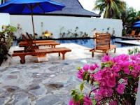 hotel di gili trawangan, pulau gili trawangan, lombok, wisata lombok, villa di gili trawangan, pulau gili, pantai, sunset,