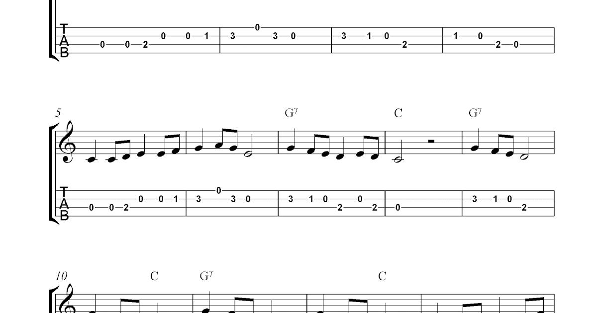 Long Long Ago Free Ukulele Tab Sheet Music