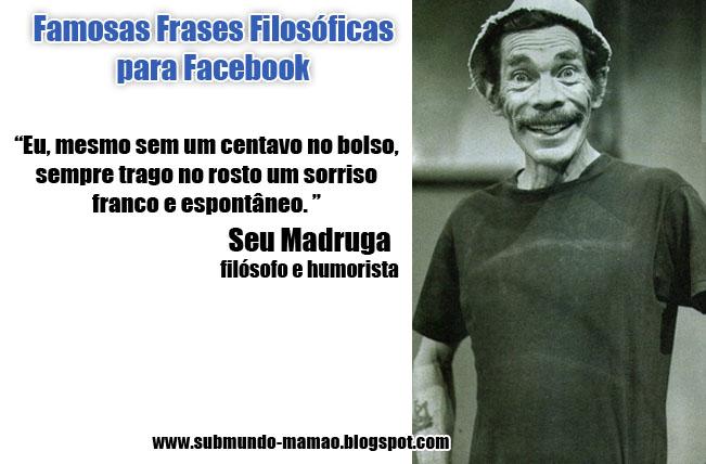 Famosas Frases Filosóficas para Facebook #5
